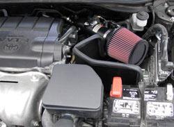 K&N Luftansaugsystem 69-8611TTK auf einem 2010 Toyota Camry 2,5 L installiert