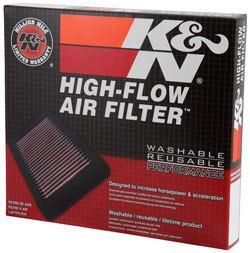 K&N Luftfilter mit hohem Durchfluss