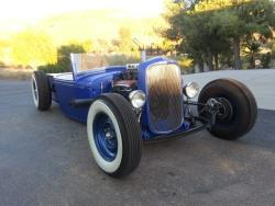 TDer 1932 Ford Pick-up Roadster wurde von Wellbilt Kustoms in Buena Park, Kalifornien gebaut.