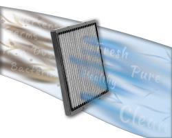 Das K&N Innenraumluftfilter bringen Leistung für bis zu 10 Jahren oder 1 000 000 Meilen.