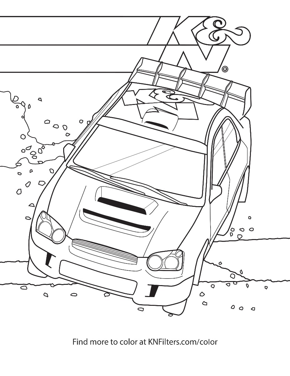 K&N Printable Coloring Pages for Kids | 1200x927